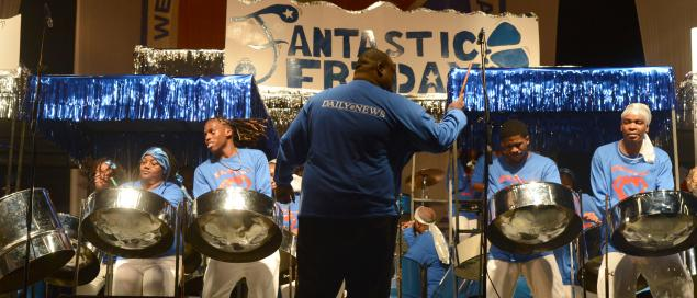 <p>&#10;&#9;The CASYM Steel Orchestra beat nine other bands to become 2013 Panorama champs.</p>&#10;